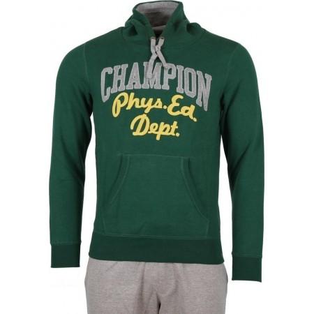 Champion Hooded Sweatshirt Green