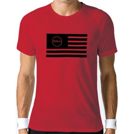 GSA Superlogo Tee 1719036 Flag Red