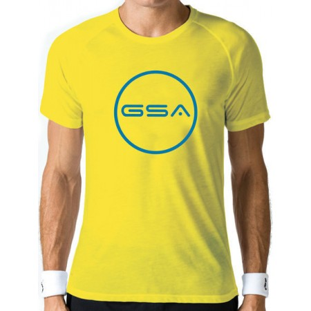 GSA Superlogo Tee Circle 1719038 ΚΙΤΡΙΝΟ