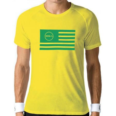 GSA Superlogo Tee 1719038 Flag ΚΙΤΡΙΝΟ