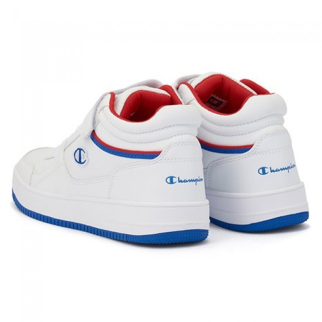 Champion Mid Cut Shoe Rebound Vintage ΑΣΠΡΟ