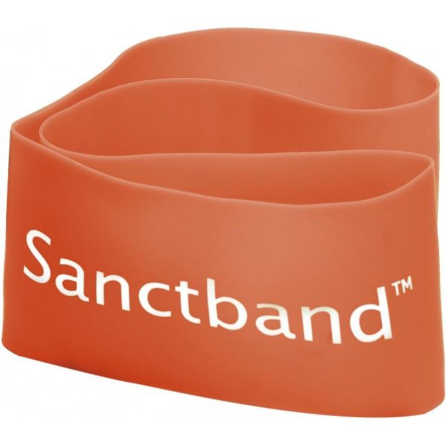 Λάστιχο Αντίστασης Sanctband Loop Band Μαλακό Πορτοκαλί