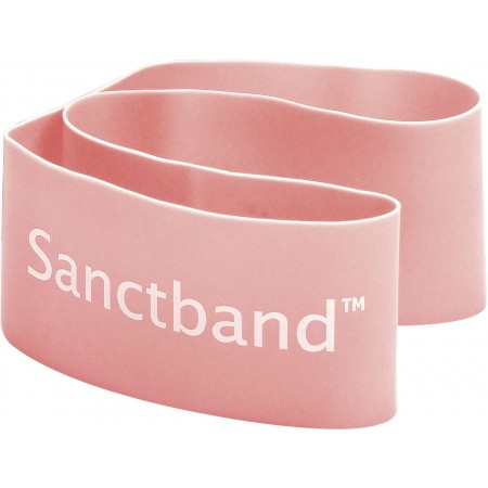 Λάστιχο Αντίστασης Sanctband Loop Band Πολύ Μαλακό Ροδακινί