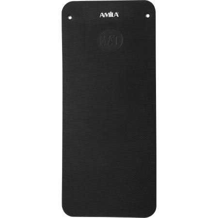 Amila Στρώμα Pilates 139 X 60 X 1.5 Cm Μαύρο