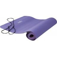 Amila Στρώμα Yoga 4mm TPE Ροζ/Μωβ