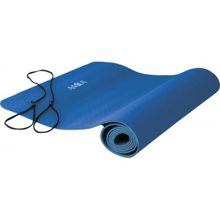 Amila Στρώμα Yoga 6mm TPE Μπλε/Γαλάζιο