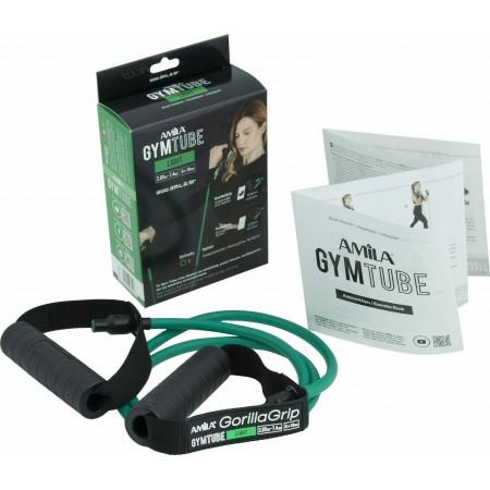 Λάστιχο με Λαβές Gym Tube Gorilla Grip Πράσινο-Μαλακό Amila 96652