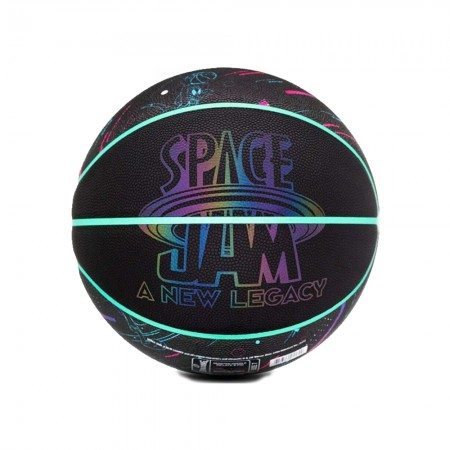 Spalding Adult Power-Up Space Jam Characters Size 7 Premium Composite C