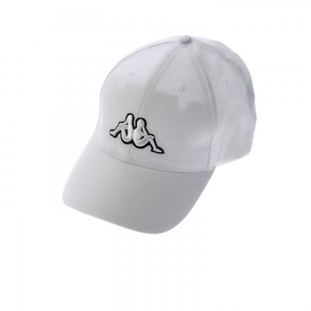 Kappa Ανδρικό Καπέλο Macky Λευκό