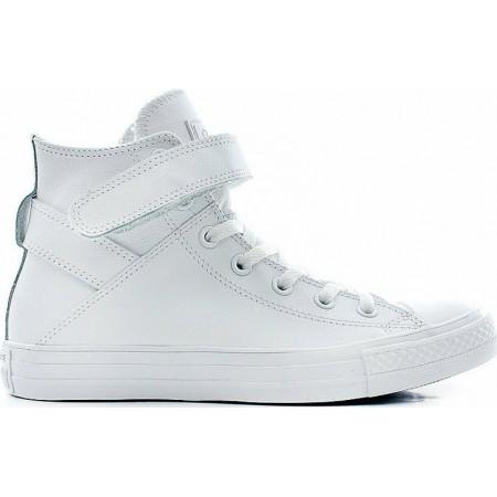 Converse CTAS Brea Leather Hi White