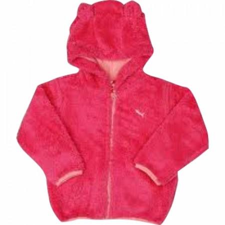 PUMA Basic Baby Jacket Teddy Shape ΡΟΖ