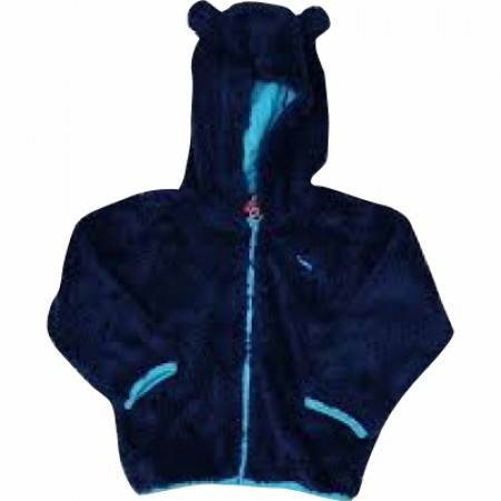 PUMA Basic Baby Jacket Teddy Shape ΜΠΛΕ