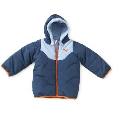 PUMA Kinder Jacke Basic-Winter, Dark Denim-Powder ΜΠΛΕ, 816902 01