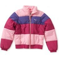 Puma 816918 Children's Padded Jacket Φούξια/Ροζ