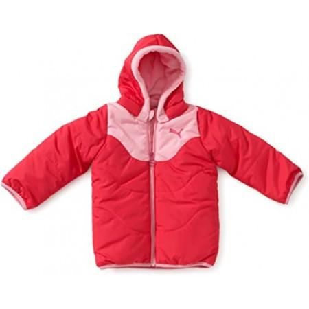 PUMA Kinder Jacke Basic-Winter, Raspberry-Prism ΡΟΖ, 816902 02